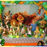 Decoração - Madagascar